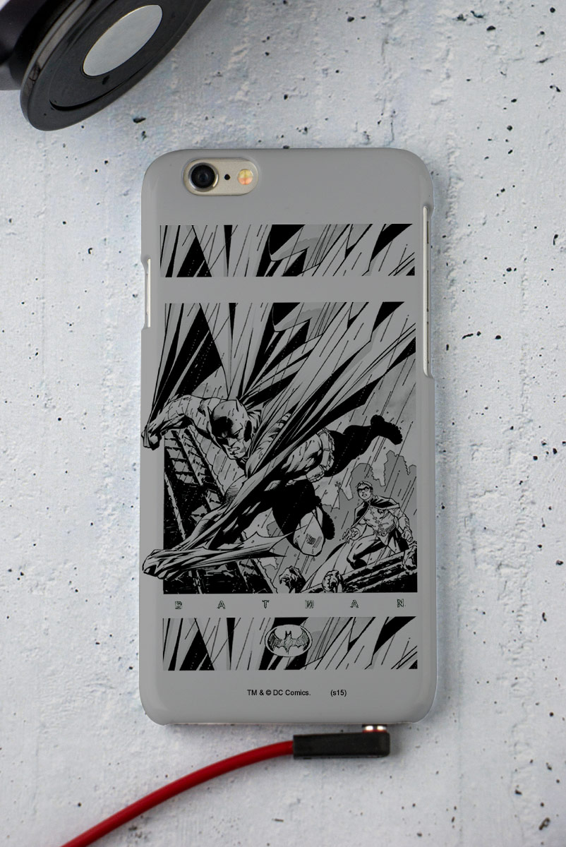 Capa para iPhone 6/6S Tracing Batman 2