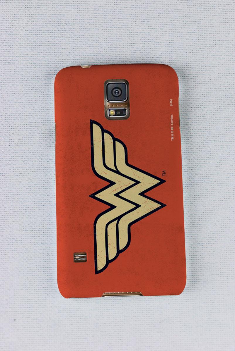 Capa para Samsung Galaxy S5 Wonder Woman