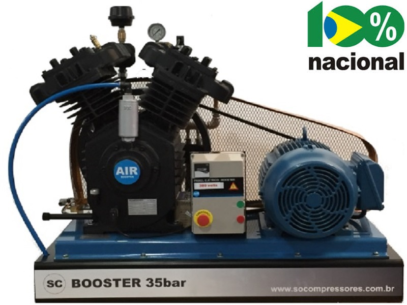 Booster BSCV-25/AD - 25HP  - Sócompressores