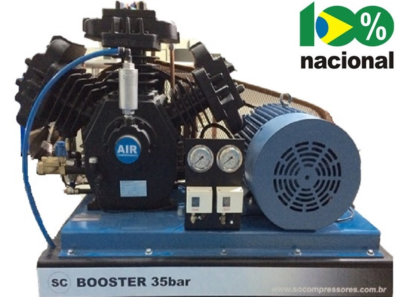 Booster BSCW-30/AD - 30HP  - Sócompressores
