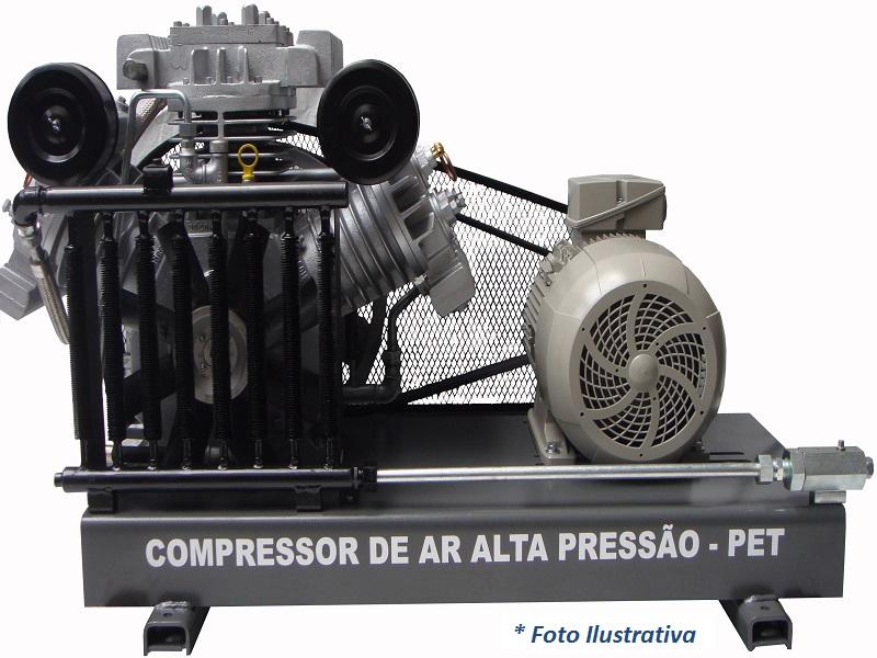 Compressor PET SAPW-80N/AD - 18BAR  - Sócompressores