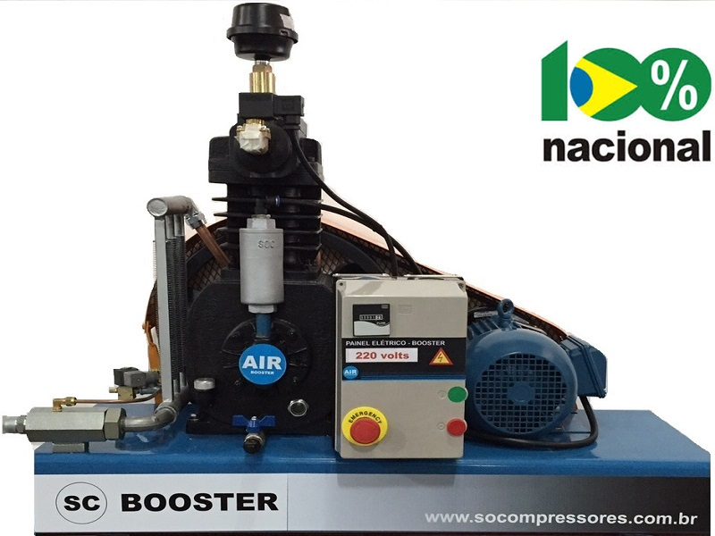 Booster BSCI-5/AD - 5HP  - Sócompressores