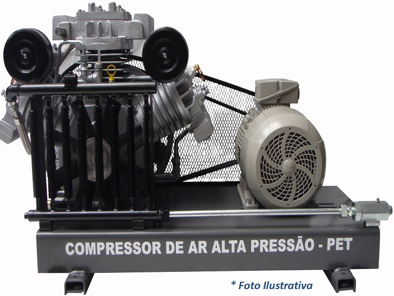 Compressor PET SAPW-80ESN/AD - 25BAR  - Sócompressores