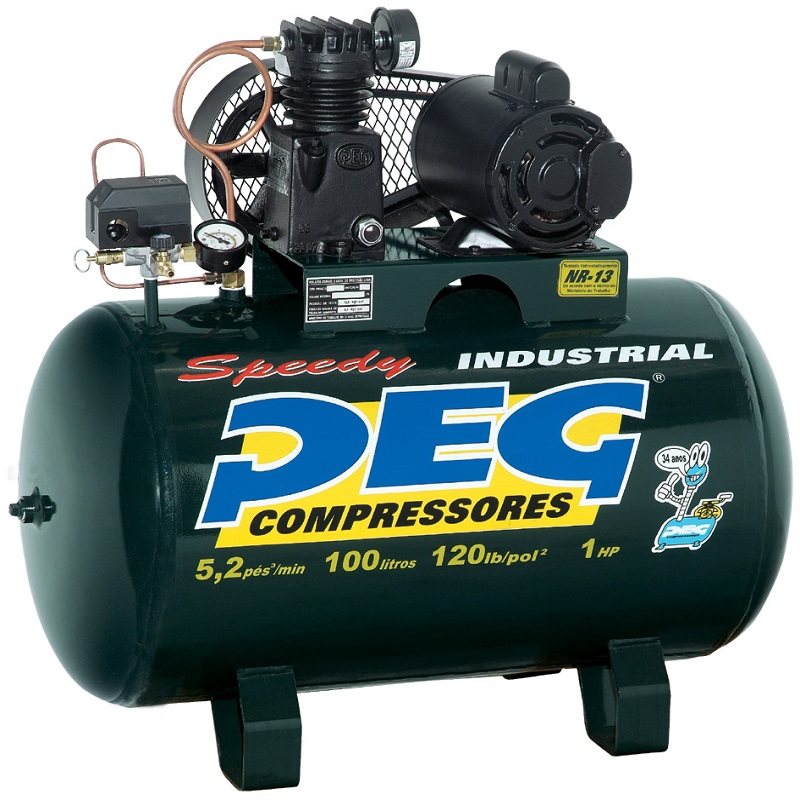 Compressor NBPI-5,2/100 - 5,2pcm  - Sócompressores