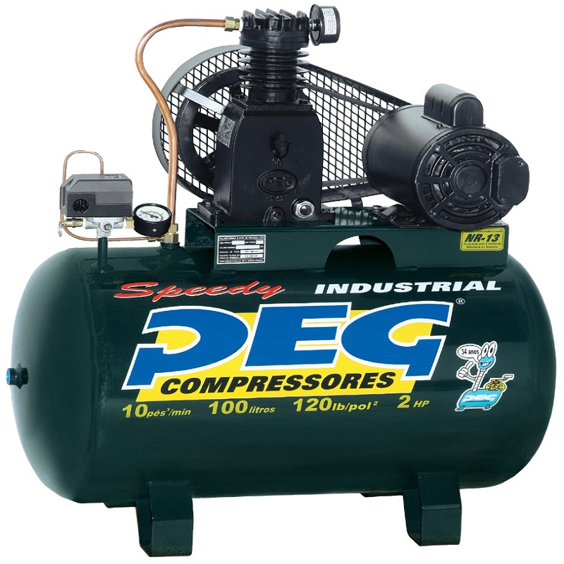 Compressor NBPI-10/100 - 10pcm  - Sócompressores