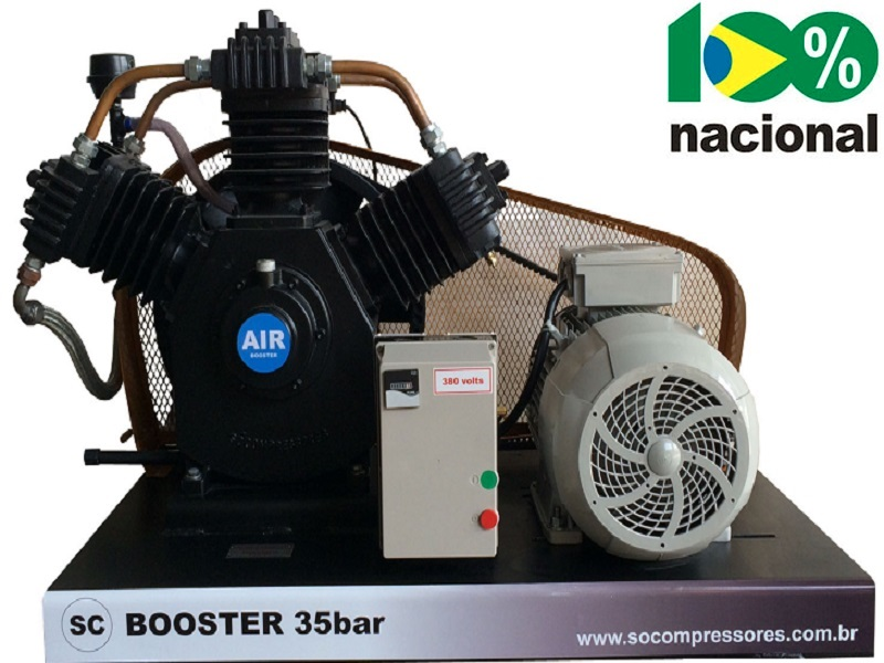 Booster BSCRN-20/AD - 20HP  - Sócompressores