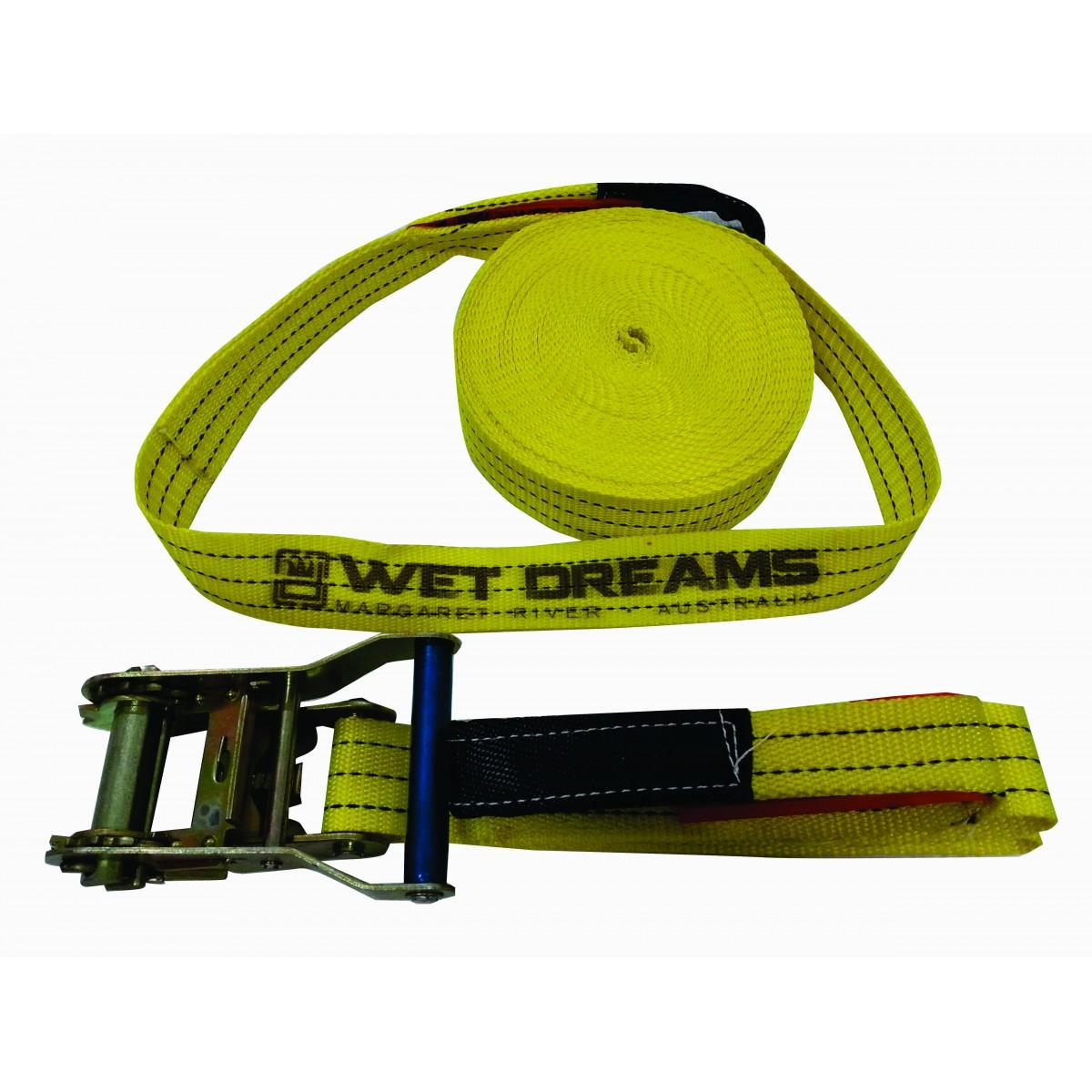 Kit Slackline Cinta 15 Metros X 50mm  - Wet Dreams