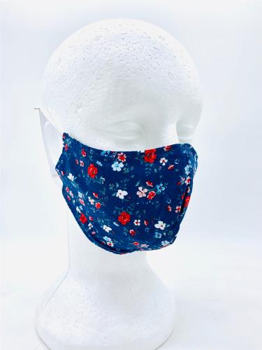 Máscara Anatômica Tecido Lavável Dupla Face Algodão