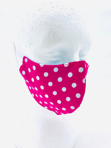 Kit 5 Máscaras Anatômicas Tecido Lavável Dupla Face Algodão  - Wet Dreams