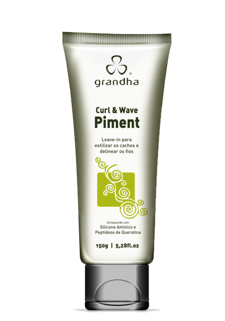 Curl & Wave Piment 150g - Grandha  - Beleza Outlet