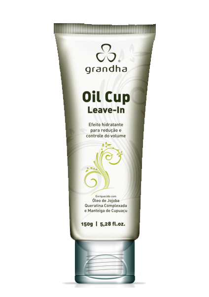 Oil Cup Leave-in 150g - Grandha  - Beleza Outlet