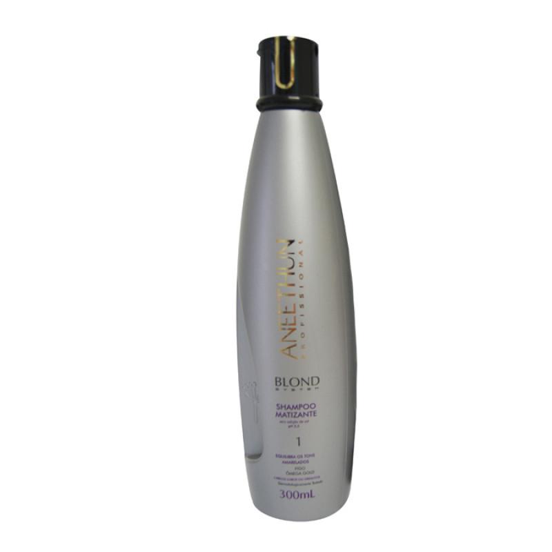 Aneethun Blond System Shampoo Matizante 300 ML