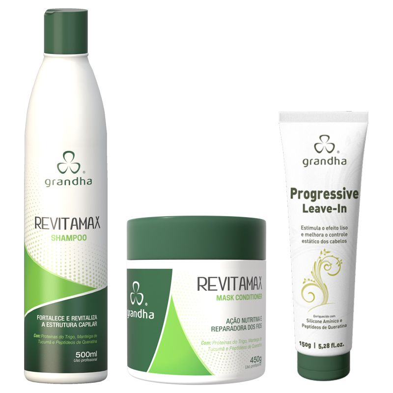 KIT REVITAMAX GRANDHA (Grande)  - Beleza Outlet