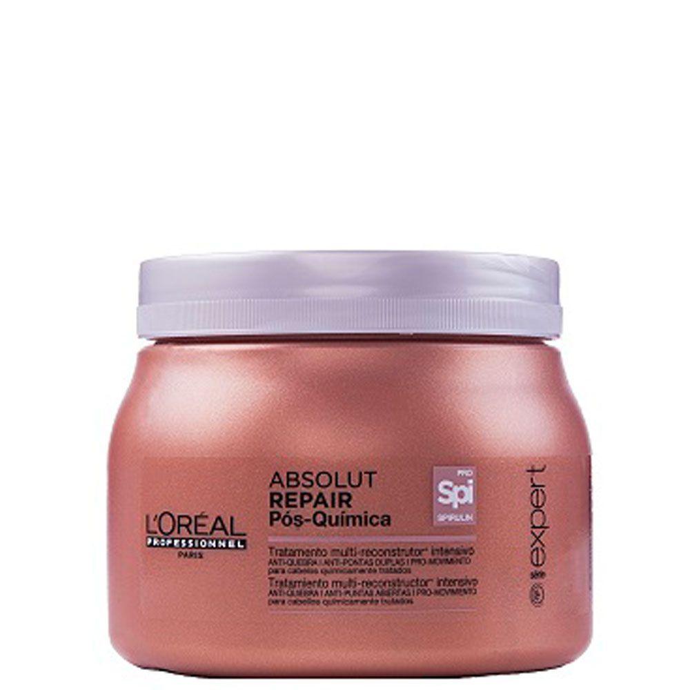 Máscara Absolut Repair Pós Quimica 500g -L'Oréal  - Beleza Outlet
