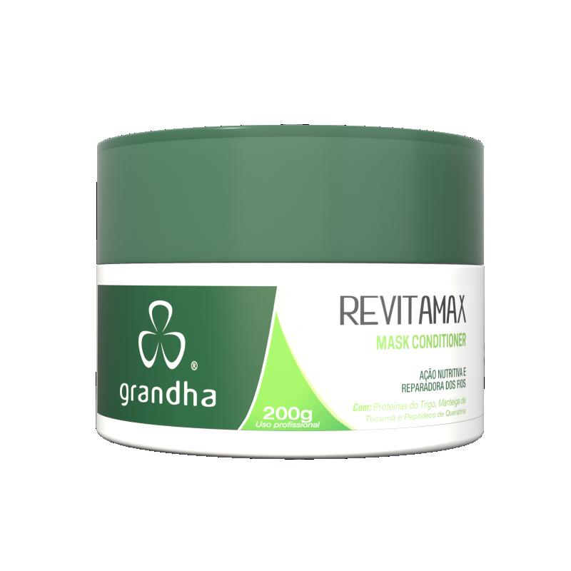 Revitamax Mask Conditioner 200g - Grandha  - Beleza Outlet