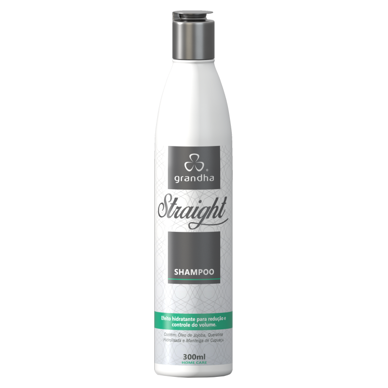 Straight Shampoo 300ml - Grandha  - Beleza Outlet