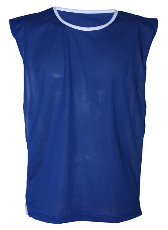 Colete Esportivo de Treinamento com Vi�s e El�stico - Cor Azul Royal