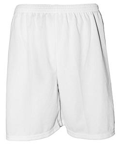 Uniforme Esportivo com 14 camisas modelo Sporting Vermelho/Branco + 14 calções modelo Madrid Branco + Brindes