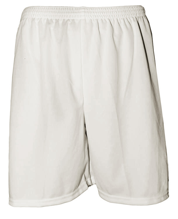 Uniforme Esportivo com 18 camisas modelo Milan Preto/Branco + 18 calções modelo Madrid Branco + Brindes