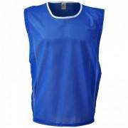 Colete Esportivo de Treinamento com Viés e Elástico - Cor Azul Royal