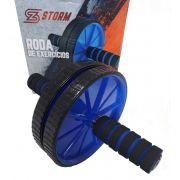 Roda Para Exercícios Azul - Storm Fitness Equipment