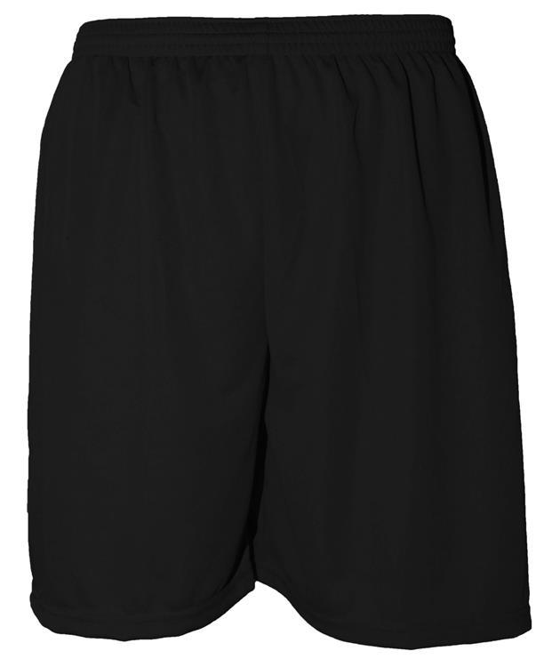 Uniforme Esportivo com 12 camisas modelo Milan Preto/Branco + 12 calções modelo Madrid + 1 Goleiro + Brindes