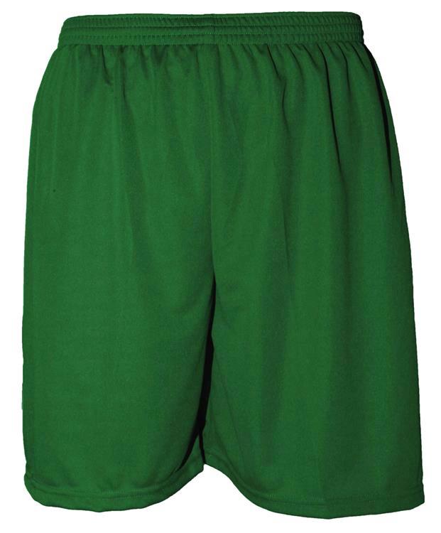 Uniforme Esportivo com 14 camisas modelo Suécia Verde/Branco + 14 calções modelo Madrid + 1 Goleiro + Brindes