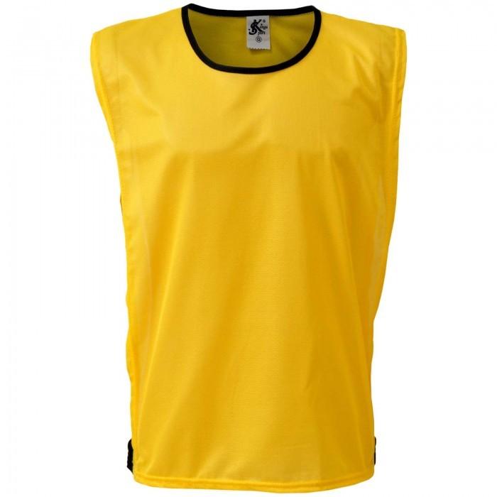 Colete Esportivo de Treinamento com Viés e Elástico - Cor Amarelo - Kanga cb0ea64beedec