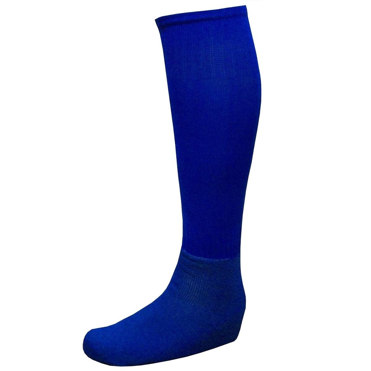 Meião Tradicional Reforçado Azul Royal - Delfia