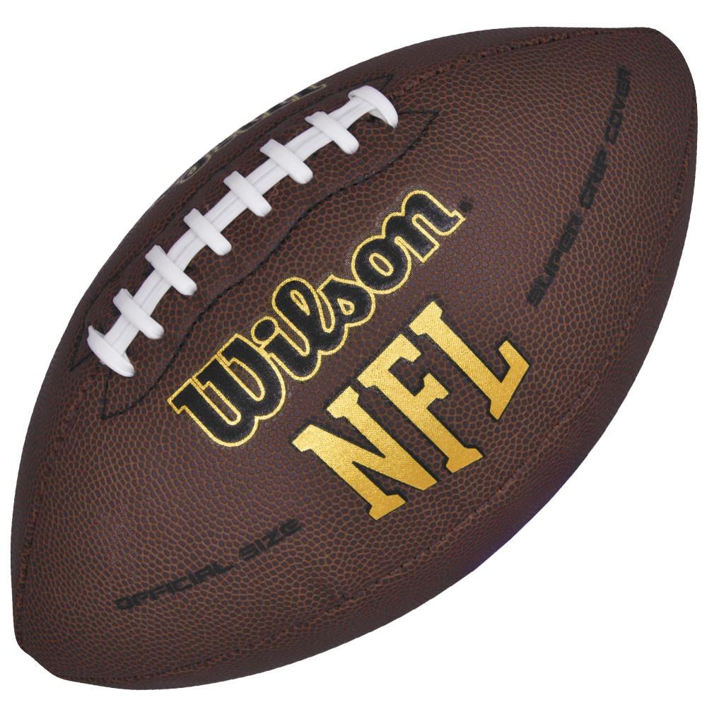 b1f18b22c Bola de Futebol Americano Oficial NFL Super Grip - Wilson - Rocha Esportes  Uniformes e Artigos