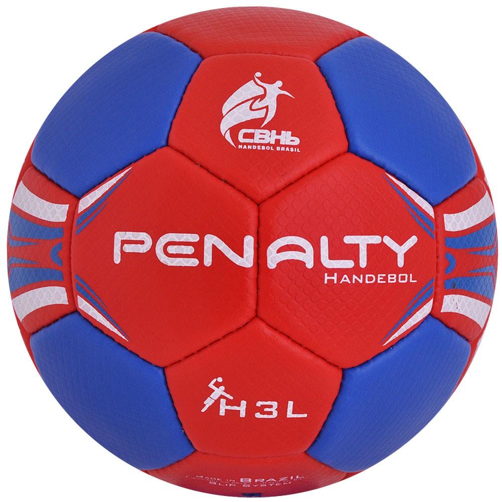 Bola Penalty Handebol Hand H3L Masculino Com Costura