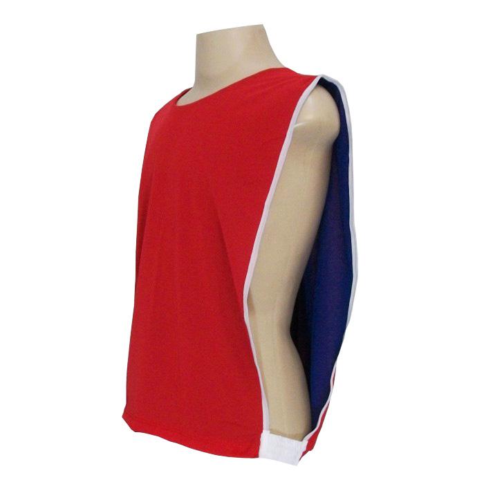 c979d17909874 ... Jogo de Coletes Dupla Face 10 Unidades na cor Royal Vermelho - Rocha  Esportes Uniformes