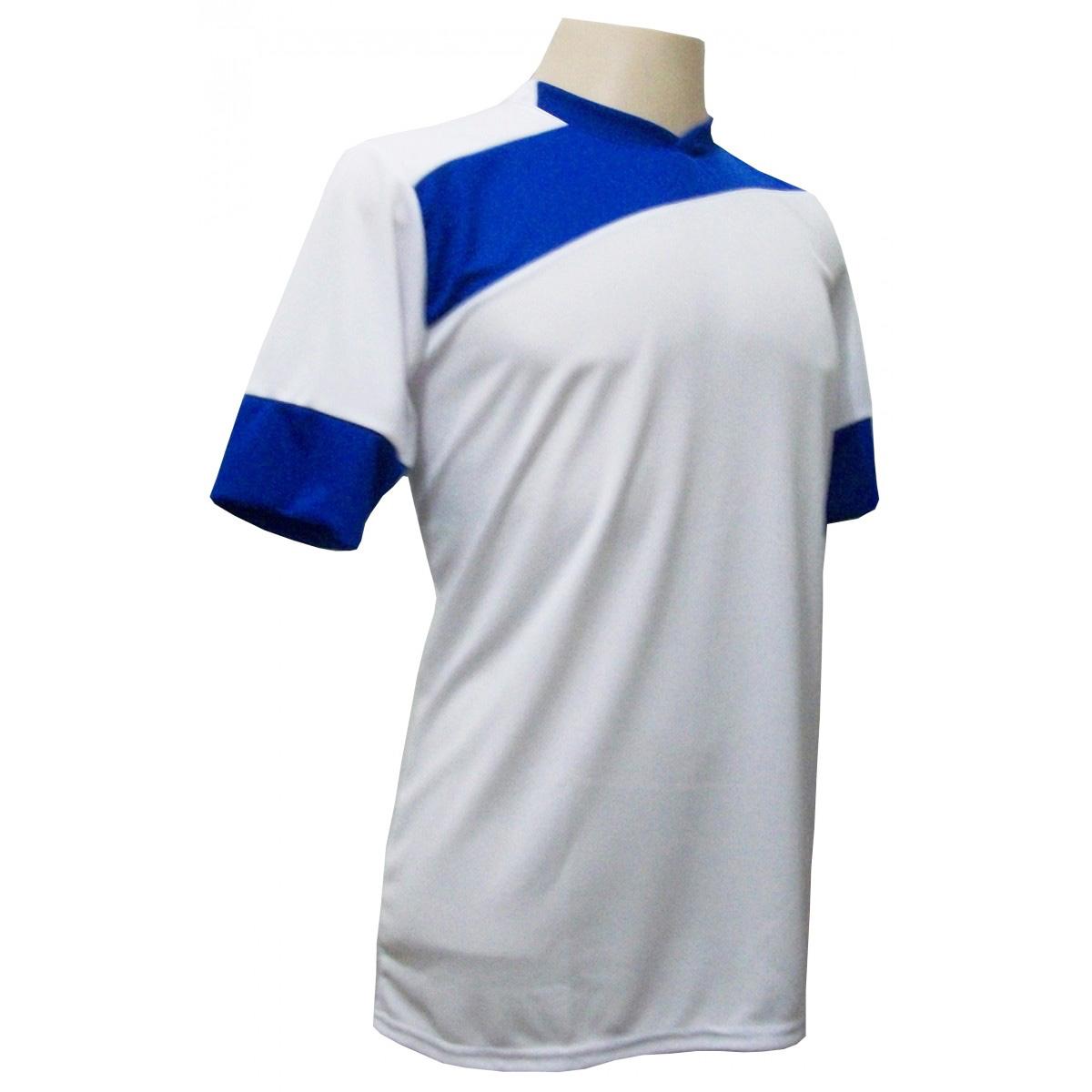 5b0ac10d75ecf ... Uniforme Esportivo com 14 camisas modelo Sporting Branco Royal + 14  calções modelo Copa + ...