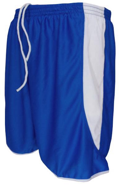 Uniforme Esportivo com 14 camisas modelo Sporting Royal/Branco + 14 calções modelo Copa Royal/Branco + Brindes