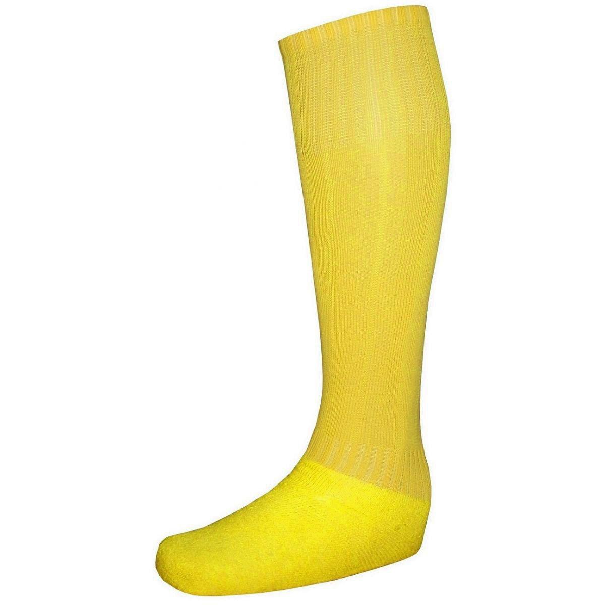 Uniforme Esportivo Completo Modelo Suécia 14+1 (14 Camisas Amarelo/Preto + 14 Calções Modelo Copa Preto/Amarelo + 14 Pares de Meiões Amarelos + 1 Conjunto de Goleiro) + Brindes
