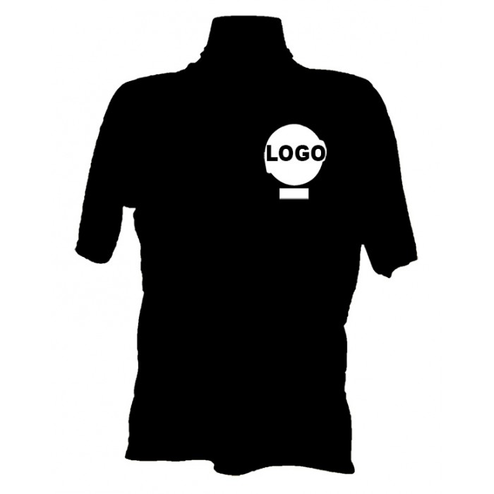 Distintivo no peito em até 3 cores - 12 camisas