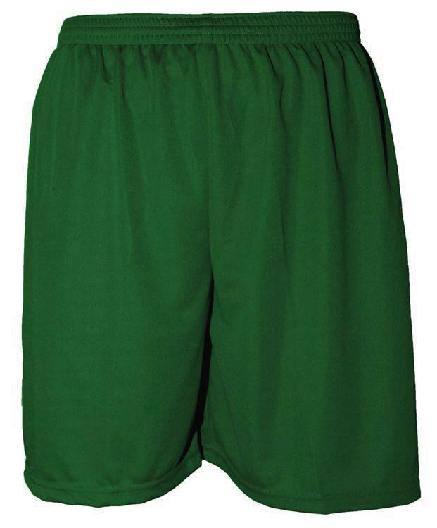 Uniforme Esportivo com 14 camisas modelo Palermo Amarelo/Verde + 14 calções modelo Madrid Verde + Brindes