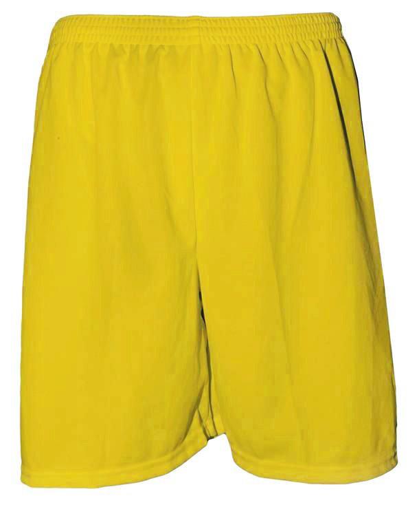 Fardamento Completo modelo City 18+2 (18 Camisas Amarelo/Preto + 18 Calções Madrid Amarelo + 18 Pares de Meiões Pretos + 2 Conjuntos de Goleiro) + Brindes