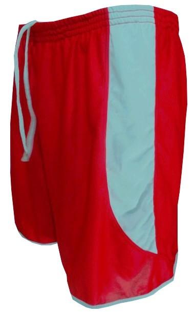 Uniforme Esportivo com 18 camisas modelo City Vermelho/Branco + 18 calções modelo Copa + 1 Goleiro + Brindes