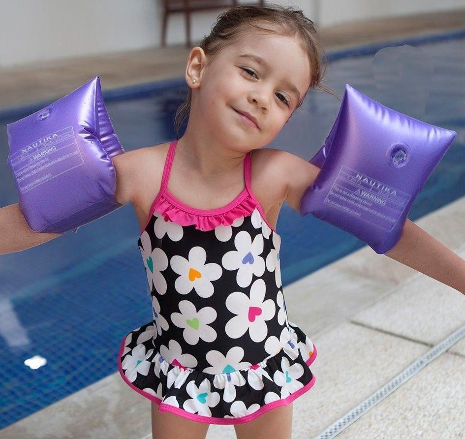 Boia de Braço Infantil Roxa modelo Pérola - Nautika