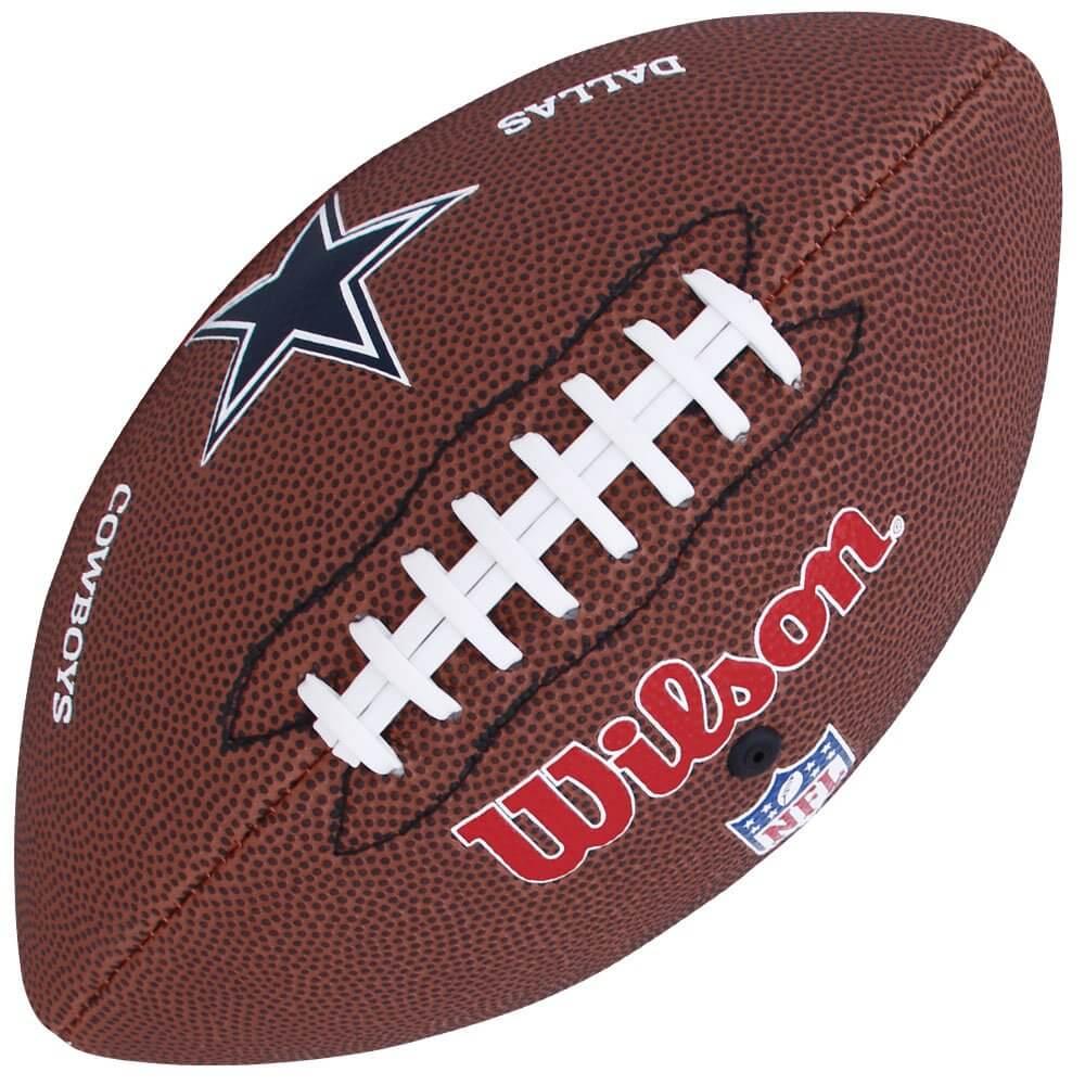 a4670fe8f001c Bola de Futebol Americano NFL Dallas Cowboys - Wilson - Rocha Esportes  Uniformes e Artigos Esportivos ...