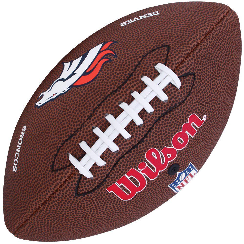 14744a09f Bola de Futebol Americano NFL Denver Broncos - Wilson - Rocha Esportes  Uniformes e Artigos Esportivos ...