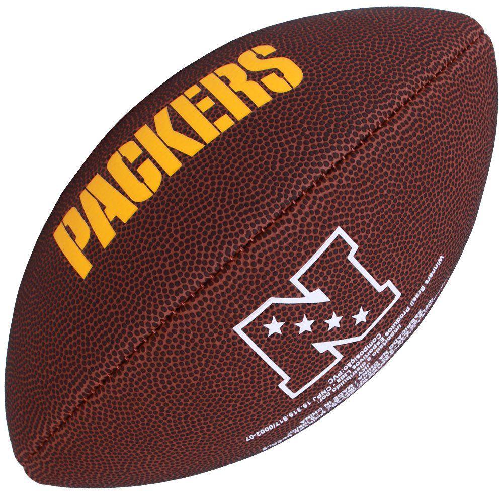 Bola de Futebol Americano NFL Green Bay Packers - Wilson 81d1109c8abbf