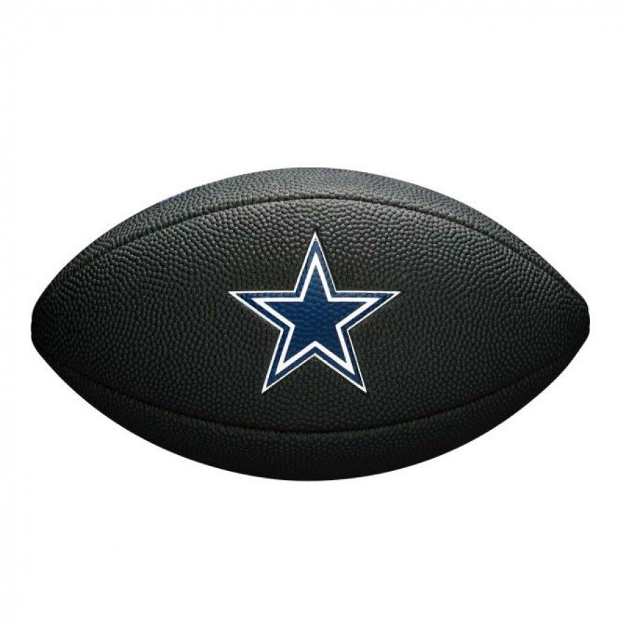 5404fa1a61f55 ... Bola de Futebol Americano Wilson NFL Team Jr Dallas Cowboys Black  Edition - Rocha Esportes Uniformes ...