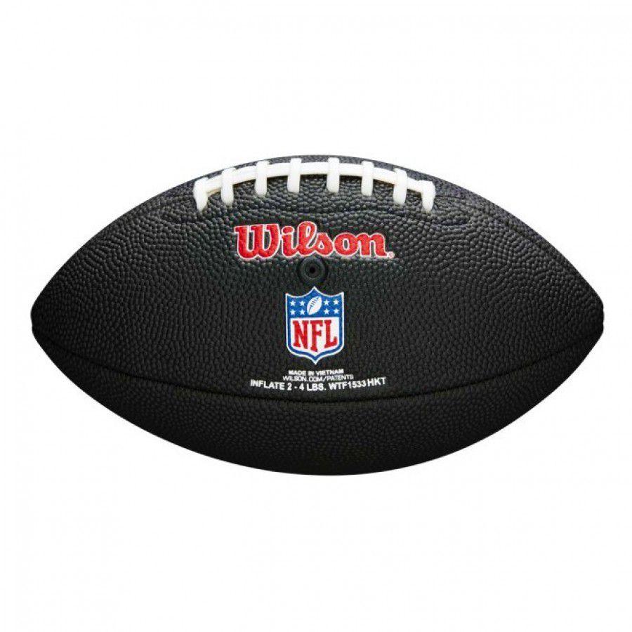 c7ef5fa86b435 ... Bola de Futebol Americano Wilson NFL Team Jr New England Patriots Black  Edition - Rocha Esportes
