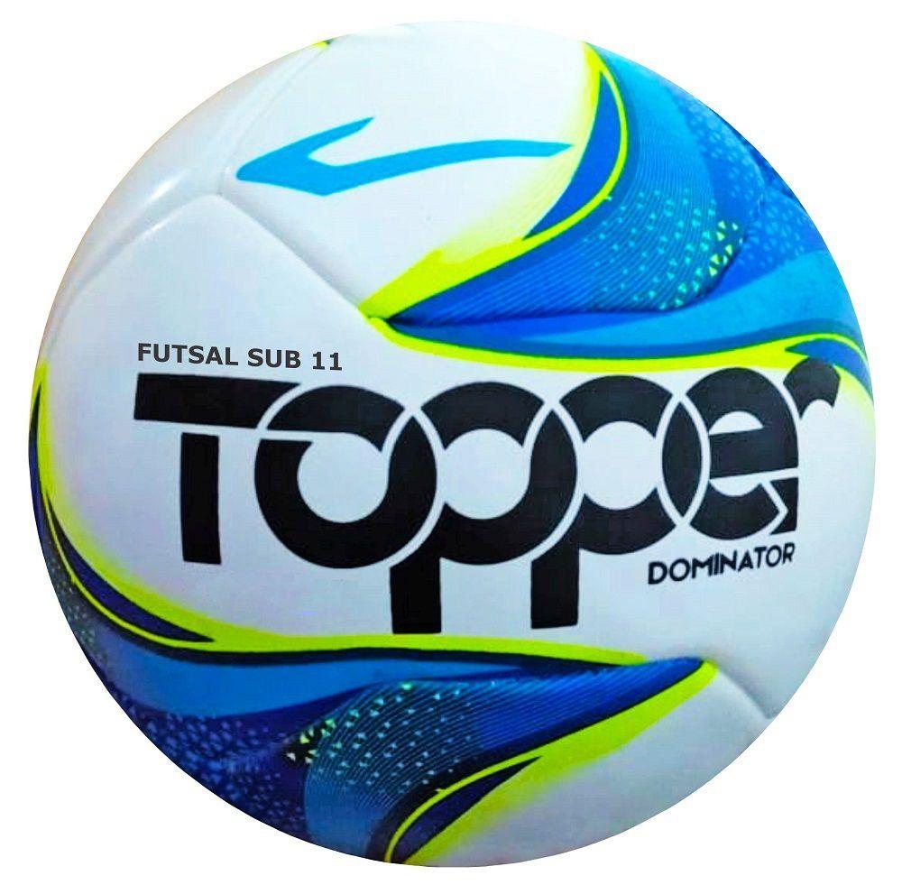97cb217b8a36c Bola de Futsal Infantil Sub 11 Dominator 2019 - Topper - Rocha Esportes  Uniformes e Artigos ...