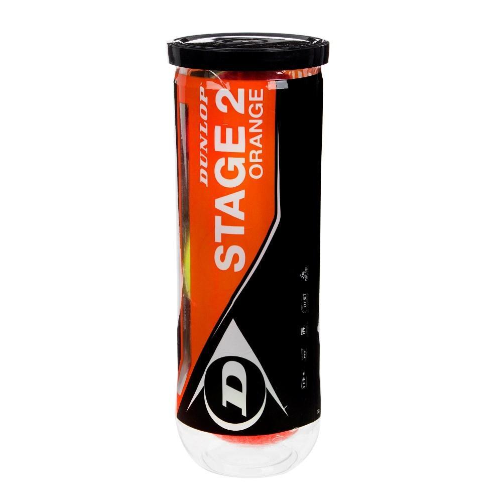 Bola de Tênis Stage 2 Orange Com 3 Unidades - Dunlop