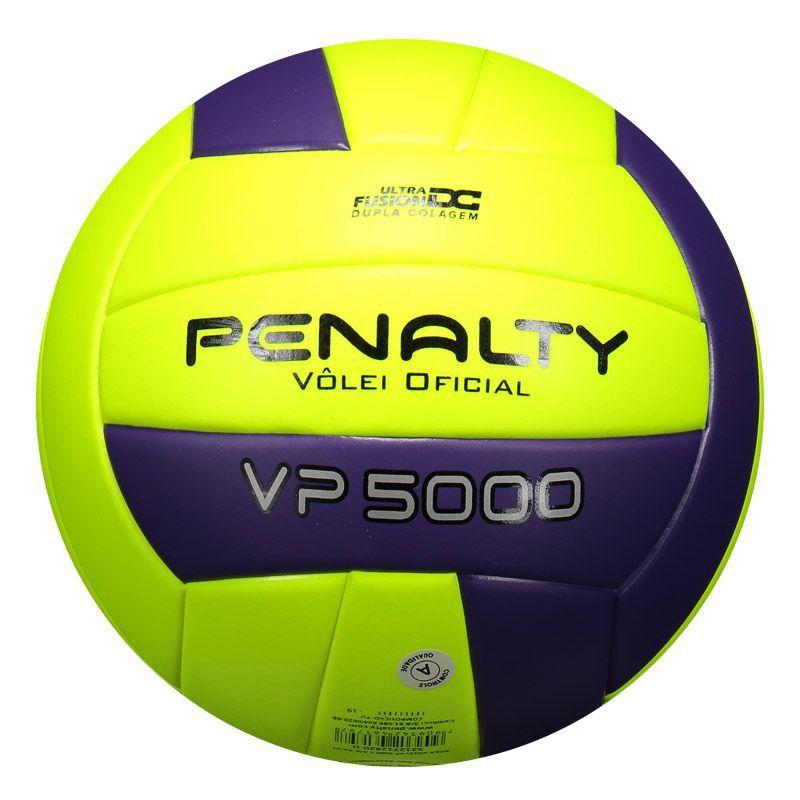 Bola de Vôlei Penalty VP 5000 X Amarela e Roxa