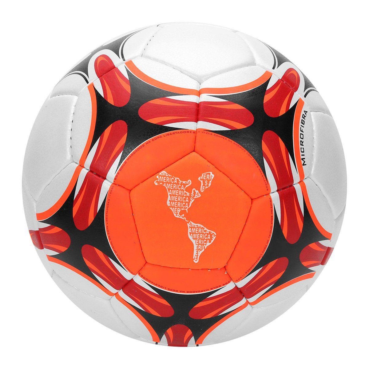 Bola Futebol Campo Penalty Brasil 70 Pró VII - Branco e Laranja