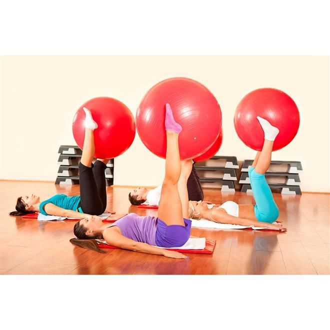 Bola Suíça Para Pilates - 45CM